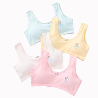 Áo lót bé gái 2 lớp, áo ngực cotton cho bé nhiều màu ( 40 kg trở lại) NX16