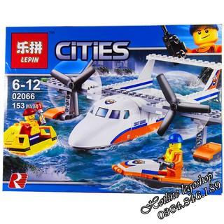 Bộ Lego Xếp hình Ninjago City Siêu Máy Bay. Gồm 153 Chi Tiết. Lego Ninjago Lắp Ráp Đồ Chơi Cho Bé. Lego City