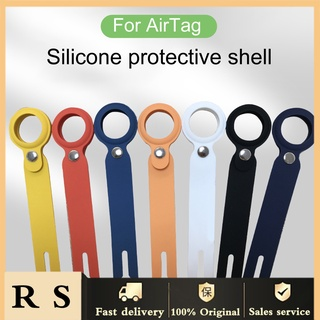 shopee10 Tracker Protector Wear-resistant Anti-scratch Silicone Full Protection Tracker Shell for AirTags