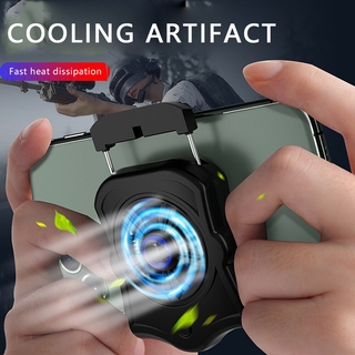 Mobile Phone Radiator Holder Cooling Pad Gamepad Cooler For PUBG Mobile Pendingin Handphone Fan Holder Gaming Phone Cool