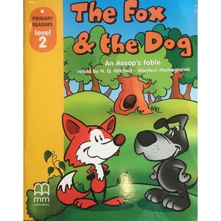 Sách - Anh: The Fox And The Dog