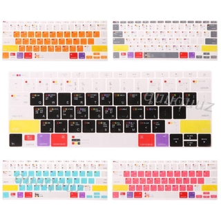 Miếng Dán Bàn Phím Silicon Nhiều Màu Cho Laptop 13 15 17 Macbook thumbnail