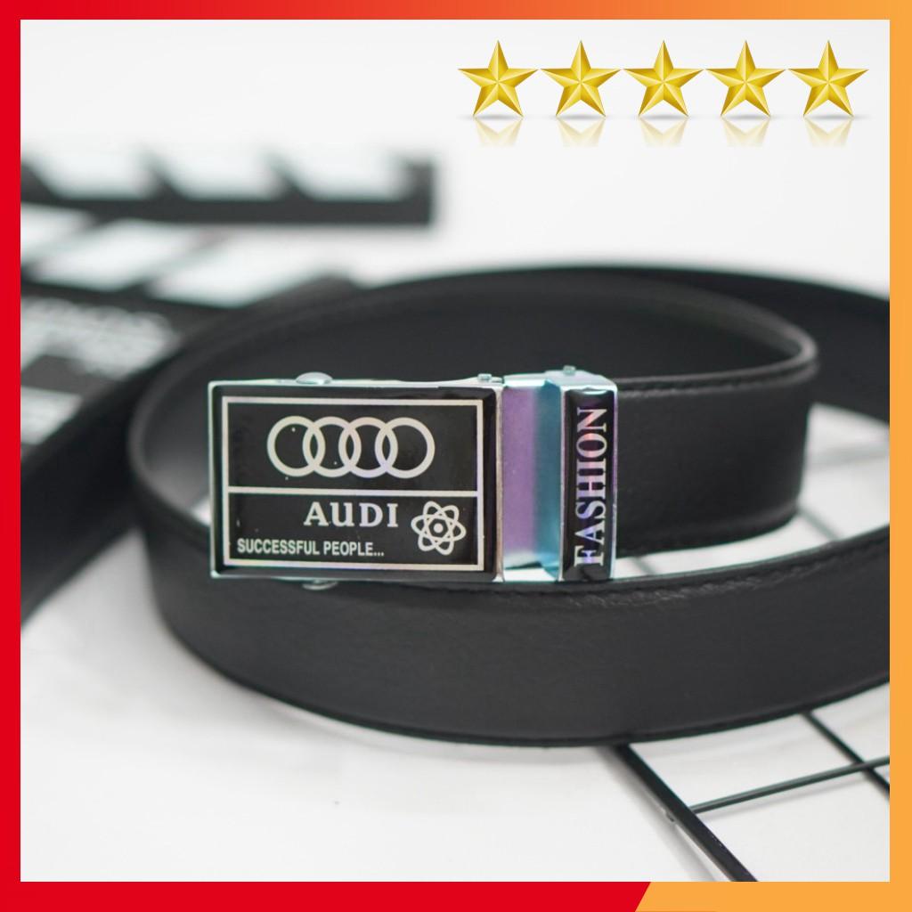 Thắt lưng dây nịt da nam GIÁ SỈ cao cấp - Quà tặng quý ông logo Audi