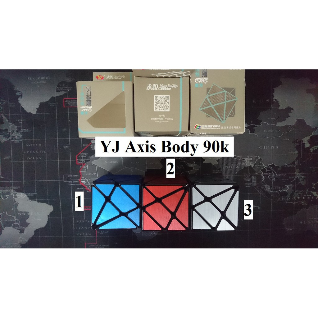 Biến thể Rubik. Axis Body YJ