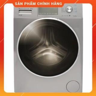 [ FREE SHIP KHU VỰC HÀ NỘI ] Máy giặt Aqua cửa ngang 8.5 kg màu xám bạc AQD-DD850E.S