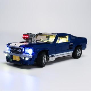 Mô hình lắp ráp xe hơi Ford Mustangqmi có đèn