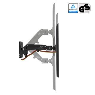 Giá treo màn hình lcd xoay 180 độ, điều chỉnh được độ cao F120 17-27 inch