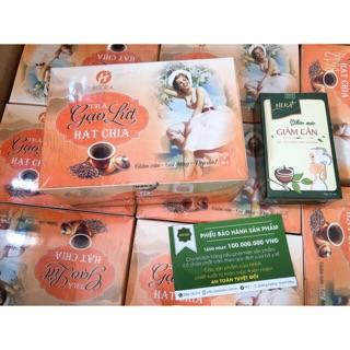Combo giảm cân trà gạo lứt HERA + trà HERA PLUS thumbnail