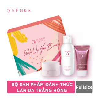 Hình ảnh Bộ sản phẩm đánh thức làn da trắng hồng (CC Serum 40g+White Beauty Glow Gel Cream 50g+White Beauty Lotion 200ml)_95133-0