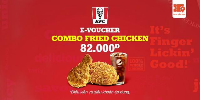 """E-Voucher KFC Combo Fried Chicken giá chỉ còn <strong class=""""price"""">5.400.000.000đ</strong>"""