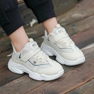 Giày thể thao trẻ em dệt kim siêu êm chân
