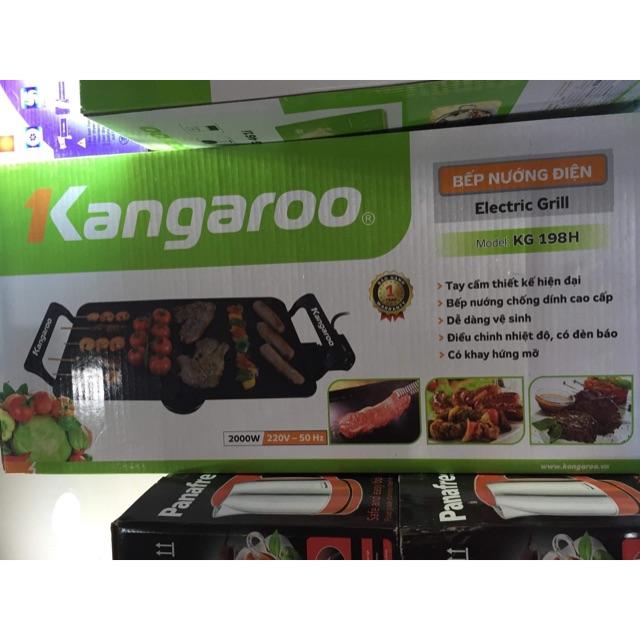 [Nhập SUNHOME100k giảm ngay 12% tối đa 100k] Bếp Nướng Điện Kangaroo KG198H