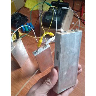 Cell pin lipo 3.7V còn mới leng keng 90% dung lượng cao