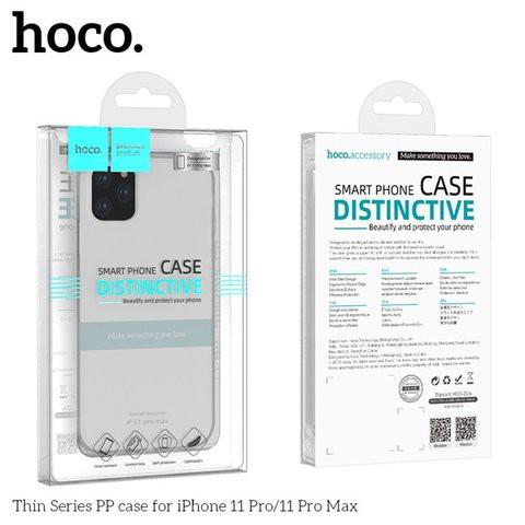 [Mã ELMTPK hoàn 20K Xu đơn 300K] Ốp Lưng Hoco Trong Suốt cho iPhone