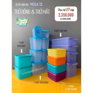 Tupperware – Bộ trữ đông và trữ mát 17 hộp