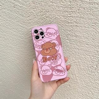 Ốp Điện Thoại Tpu In Hình Gấu Cho Iphone 12 7 Plus 8 8 Plus Se2 11 11 Pro 11 Pro Max 12 Mini 12 Pro Max X Xr Xs Xs Max