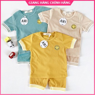 [HÀNG CAO CẤP] Đồ bộ quần áo cộc tay cho bé trai và bé gái co giản 4 chiều – mặt thoáng mát SK5