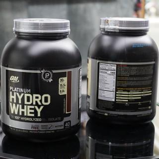 Sữa tăng cơ cao cấp ON Platinum Hydro Whey 3.5lbs (1.59kg) thumbnail
