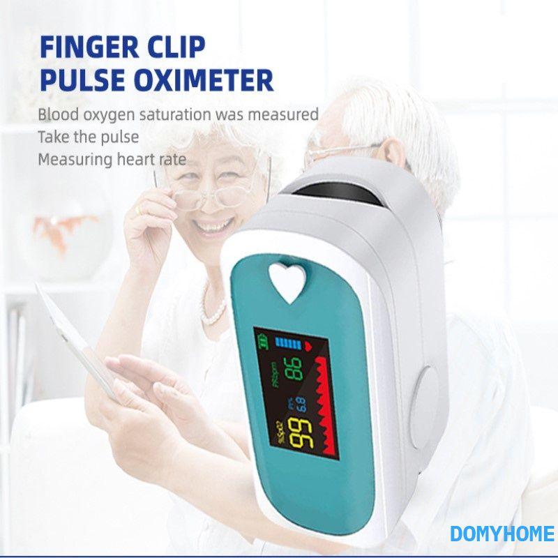 【in stock】Oximeter Máy đo oxy đầu ngón tay Máy đo nhịp tim xung Máy đo oxy bão hòa oxy trong máu dx