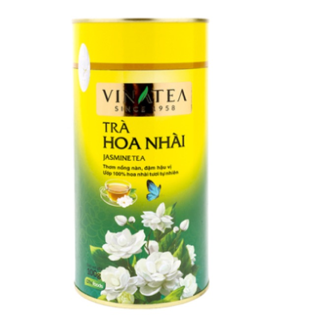Trà hoa nhài Vinatea 100g