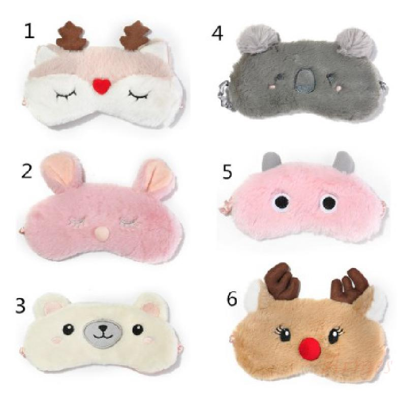 Mask Cover Soft Plush for Material Travel 931