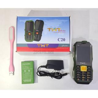 Điện thoại 2 sim pin khủng THT C20 chính hãng – GIÁ SIÊU RẺ