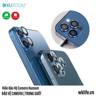 Viền Bảo Vệ Camera iPhone 12 Pro Max KUZOOM Viền Kim Loại Kính Sapphire thumbnail