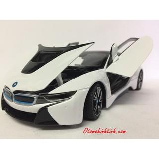 Mô hình xe ô tô BMW I8 1:24
