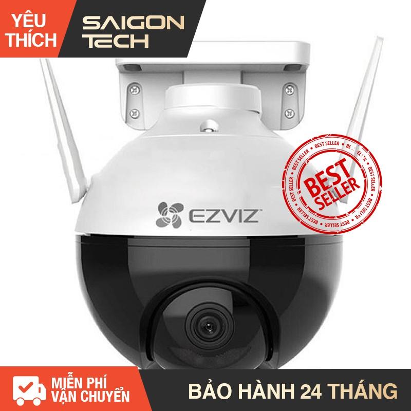 Camera Wifi EZVIZ C8C Full Color xoay thông minh Full HD 1080P (Chuẩn nén H.265 nhận diện người AI màu ban đêm) - SGT