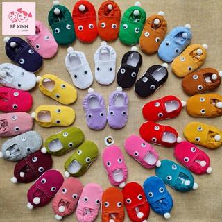 Giày vải tập đi cho bé trai bé gái [Siêu rẻ đẹp] giày trẻ sơ sinh trẻ em con tập đi mềm mại êm chân hàng đẹp giá hời thumbnail