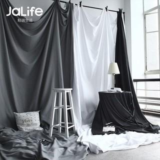 Phông nền vải chụp ảnh màu trắng đen phong cách Bắc âu sang trọng