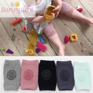 Knee pad Baby 1 Pair High quality Solid Sheer Vintage Protector Crawling Infant Cushion Babies Cotton Anti slip