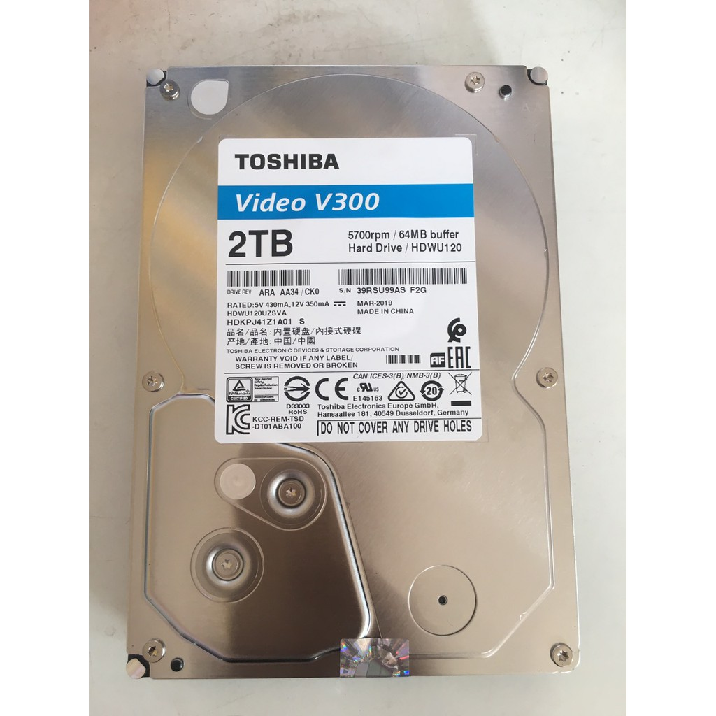 Ổ cứng Tosiba 2TB