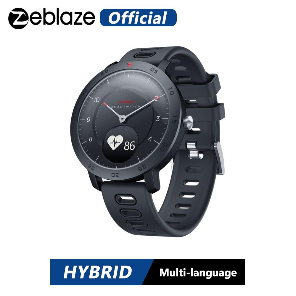 [Mã ELCB07 hoàn 15% xu đơn 99k] Đồng hồ thông minh Zeblaze Hybrid Android IOS kiểm tra sức khỏe
