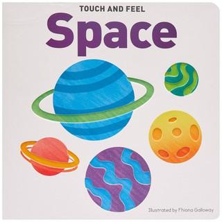 Sách Touch & Feel Board Book Space - Sách dạy bé về vũ trụ thumbnail