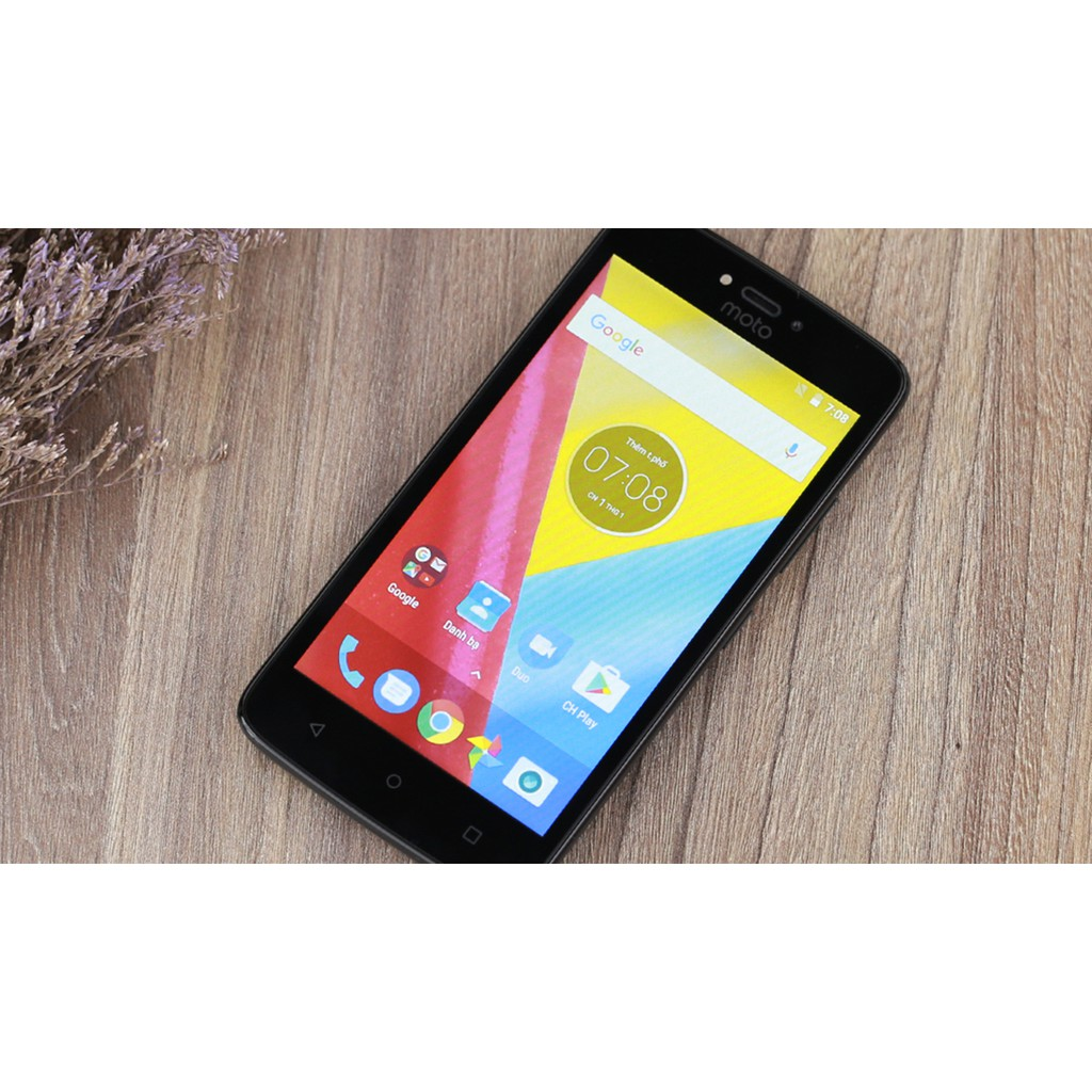 Điện thoại di động Lenovo Motorola Moto C - Hàng chính hãng - Bảo hành 12  tháng