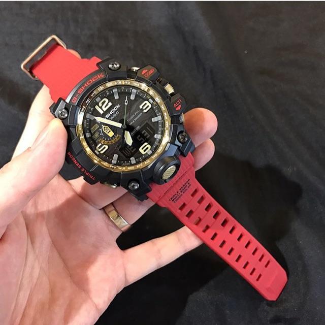 Đồng hồ nam Casio G-shock phiên bản giới hạn cực hiếm GWG-1000GB-4A - Kích thước 59,5×56,1×18mm