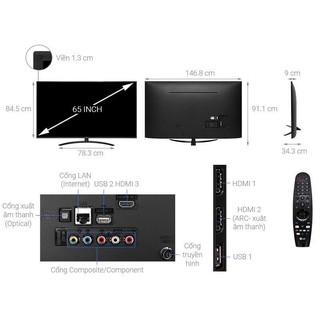 Smart tivi LG 4K 65inch 657400PTA.