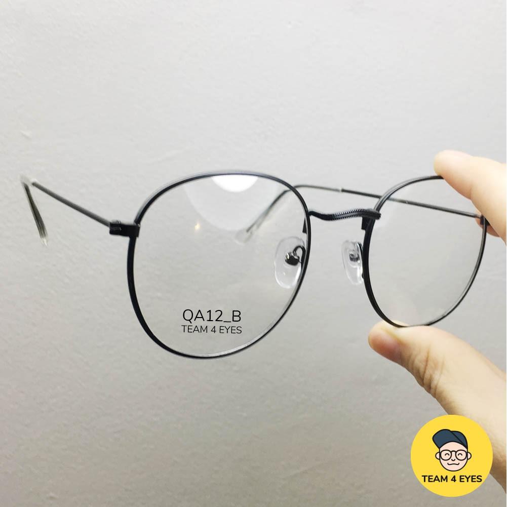 Hình ảnh [ Ảnh thật ] Gọng kính cận tròn hợp kim mỏng nhẹ-4