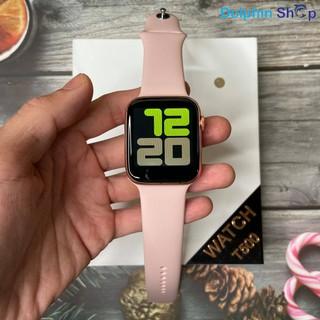 [Có Clip] Đồng Hồ Thông Minh T500 -Theo Dõi Sức Khỏe - Nghe Gọi - Chống Nước IP67 - Thay Dây Chung Với Apple Watch 44mm