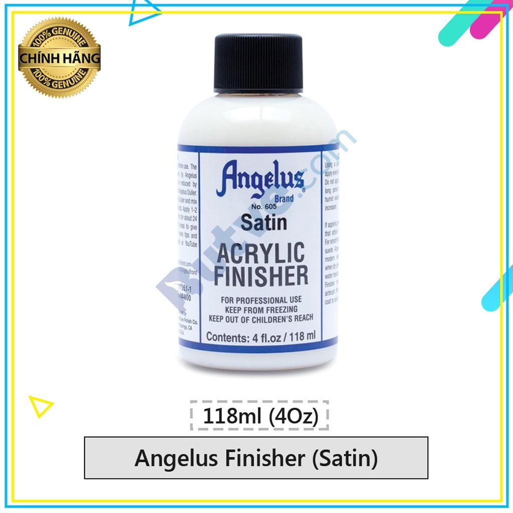Dung dịch phủ bảo vệ màu Angelus Finisher Satin (Ít bóng) – 118ml (4Oz)