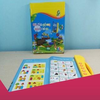 [Giảm 9k cho đơn từ 99k]COMBO 10 Quyển Sách Nói Điện Tử Song Ngữ Anh Việt .