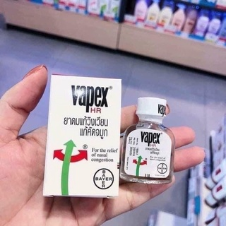 Dầu Vapex Hr Bayer Thông Mũi, Giảm Ngẹt Mũi v,v thumbnail