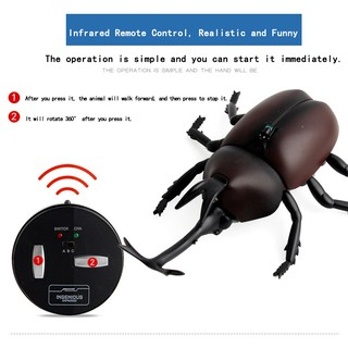 Infrared Remote Control Electric Cockroach Simulation Induction Prank Toy
