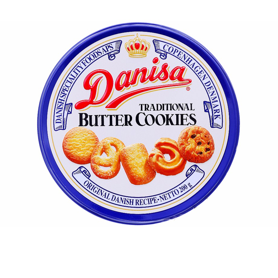 Bánh quy Danisa Butter Cookies Traditional hộp thiếc 200g - 10068521 , 661745291 , 322_661745291 , 50000 , Banh-quy-Danisa-Butter-Cookies-Traditional-hop-thiec-200g-322_661745291 , shopee.vn , Bánh quy Danisa Butter Cookies Traditional hộp thiếc 200g