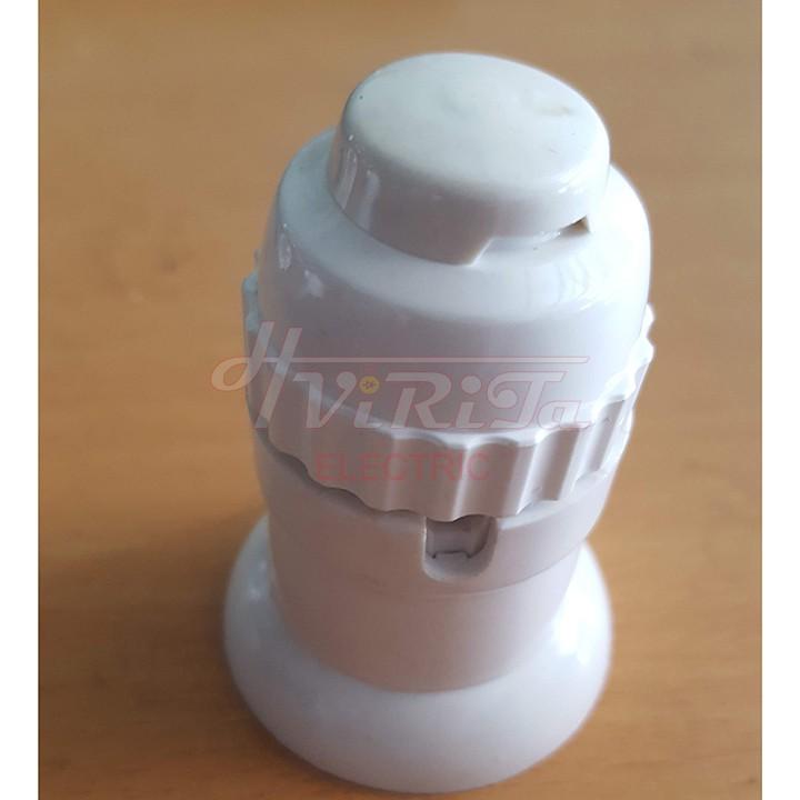 [Đủ loại] Đui đèn E27 ren xoáy siêu chịu tải