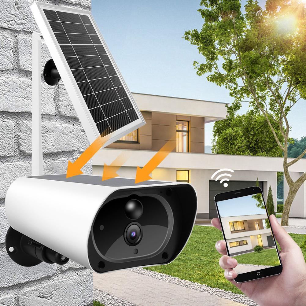 Outdoor WiFi Wireless Wifi Solar Power 1080P Waterproof