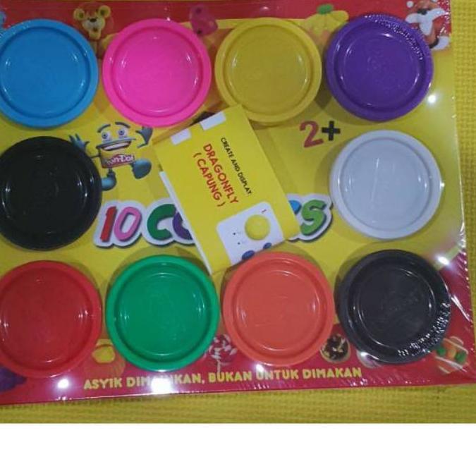 Set 10 cây nến đồ chơi giáo dục cho bé