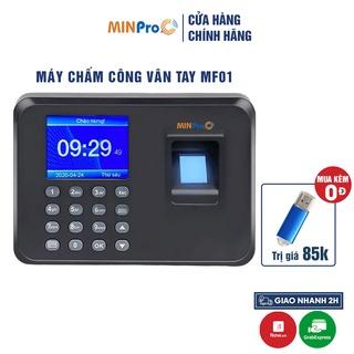 Máy chấm công vân tay MINPRO MF01 quét vân tay thông minh, dữ liệu bảo mật cao thumbnail