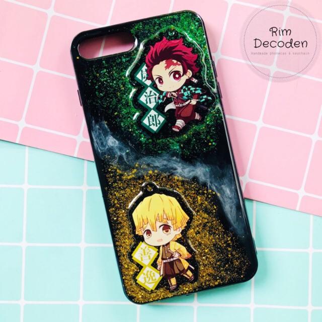 Ốp điện thoại Anime Kimetsu No Yaiba - Lưỡi gươm diệt quỷ
